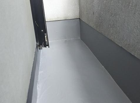 [ベランダ防水塗装] ベランダの防水塗装を行いました