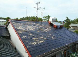 [屋根錆止め] 屋根の錆止め塗装後