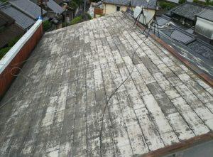 [屋根塗装前] 塗装前の屋根です。